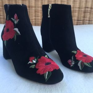Kate Spade rose boots